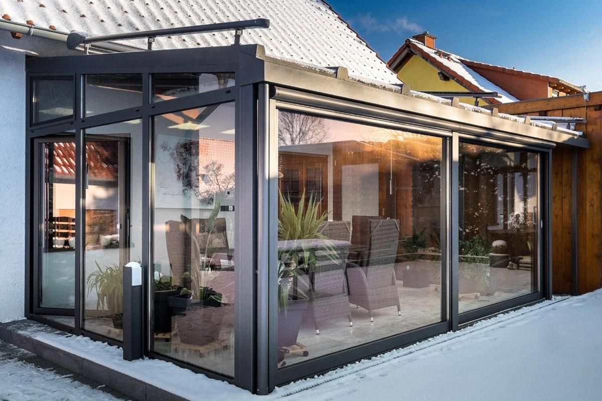 Hervorragend Kalt- und Warmwintergarten, Formen, Material – Witec GmbH AV44